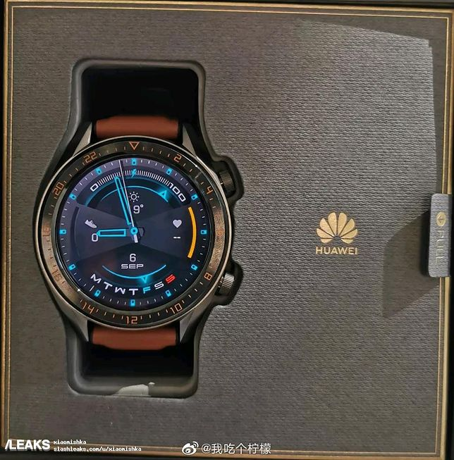 Huawei Watch GT2 - nowy wygląda świetnie