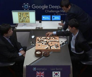 AI Google wygrało pierwsze starcie z arcymistrzem Go