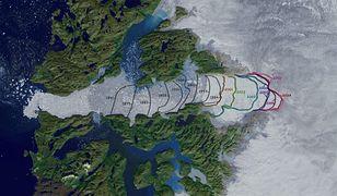 NASA stale obserwuje lodowiec Jakobshavn
