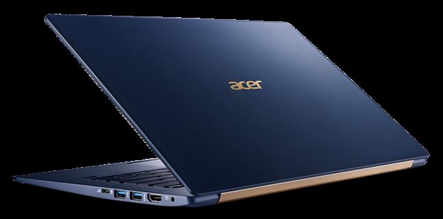 Acer Swift 5 SF514-53T pokazany podczas tegorocznych targów IFA w Berlinie.