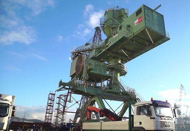Sprzęt waży prawie 400 ton