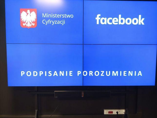 Zbanowali cię na Facebooku? Ministerstwo Cyfryzacji pomoże. Jako pierwsze na świecie