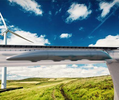 Hyperloop nazywane jest koleją przyszłości