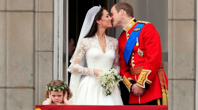 Ceremonia ślubna księżnej Kate i księcia Williama musiała być dosyć głośna
