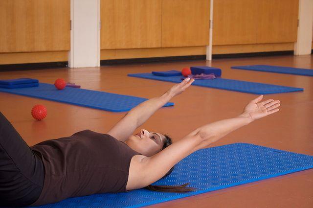 Przyjemne ćwiczenia - pilates