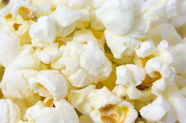 Popcorn ma mnóstwo białka