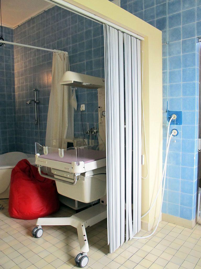 Jedna z sal szpitalnych