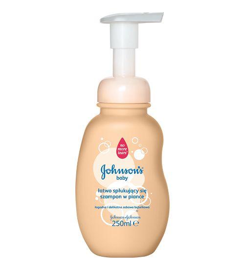 JOHNSON'SR Baby - szampon w piance