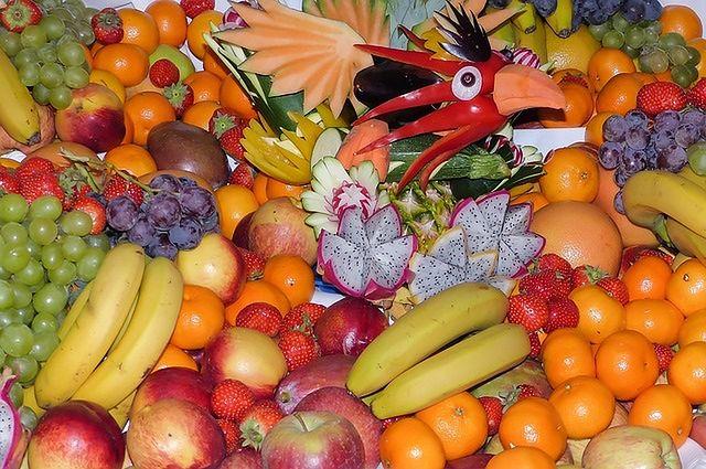 Owoce, warzywa, fasola i orzechy