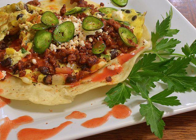 Tortilla + warzywa