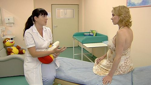Wizyta ginekologiczna w ciąży