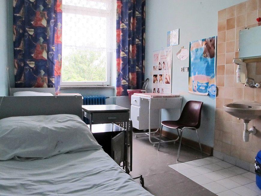 Widok sali szpitalnej
