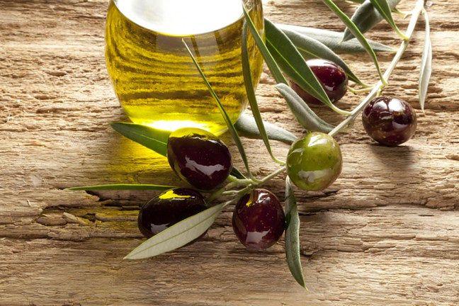 Oliwa z oliwek i cukier