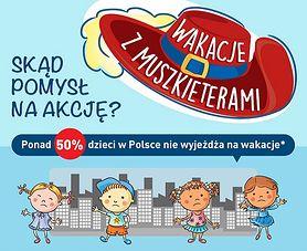 Wakacje z Muszkieterami – wspólny wyjazd blisko tysiąca dzieci z całej Polski!