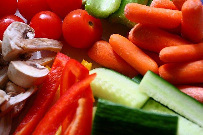 Pałeczki warzywne