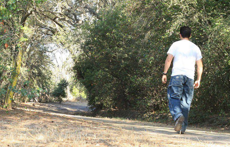 Ćwiczenia bez wysiłku - spacer