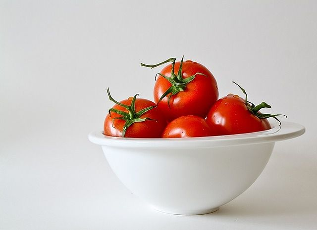 Pomidory i oliwa z oliwek