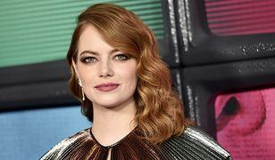 """Emma Stone: makijażowa katastrofa na premierze """"Maniaca"""""""