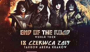"""""""End Of The World Tour"""" - legenda rocka - Kiss zagra w Krakowie!"""