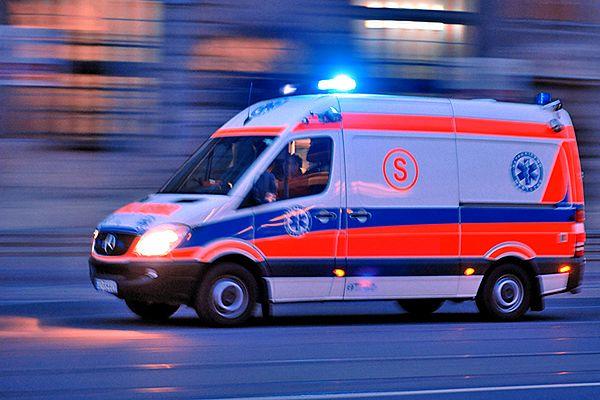 Nastolatki przebywają w szpitalu
