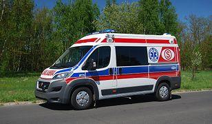 Mimo szybkiej akcji ratowników, nie udało się uratować życia chłopca