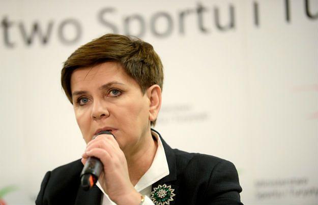 Premier Szydło rozmawiała telefonicznie z przewodniczącym PE