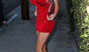 Courtney Stodden w czerwonej sukience!