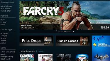 Sony odpaliło sieciowy sklep Sony Entertainment Network