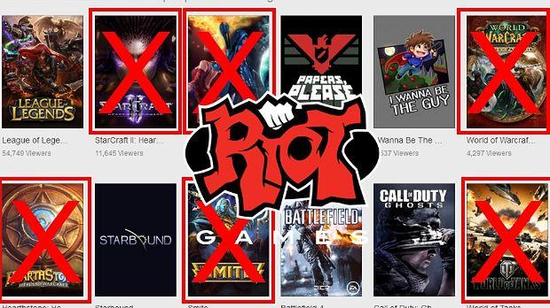 Riot Games chce zakazać profesjonalnym graczom w League of Legends streamowania niektórych innych gier [AKTUALIZACJA]