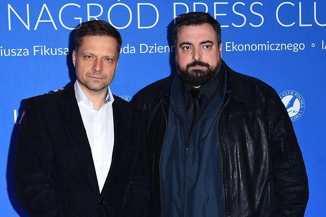 Tomasz Sekielski wraz z bratem, producentem filmu