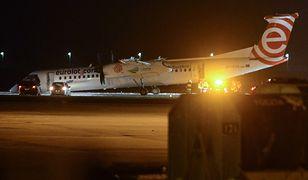 Do awaryjnego lądowanie na Okęciu doszło w środę 10 stycznia