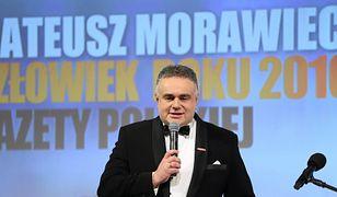 """Tomasz Sakiewicz jest redaktorem naczelnym """"Gazety Polskiej""""."""