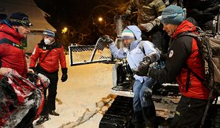 Dramatyczne chwile w Tatrach. Ratownicy TOPR na pomoc uwięzionym turystom
