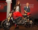 Ducati Monster 1200 najpiękniejszy na targach EICMA