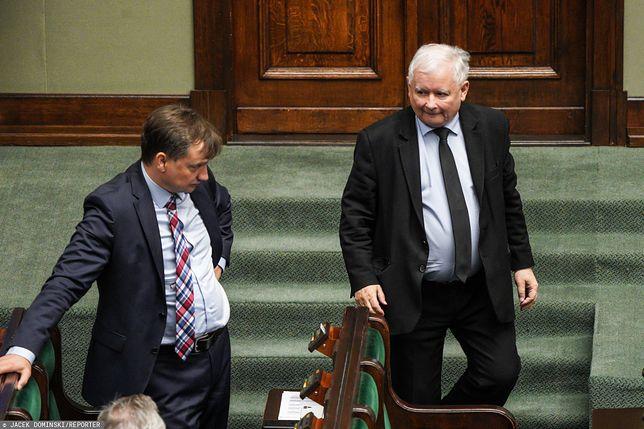 Kaczyński wymieni Ziobrę w rządzie? Rozmowy na Nowogrodzkiej