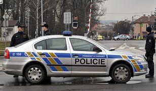 Czescy policjanci zamknęli plac Masaryka w Przybramie