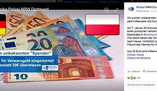 Pewien Polak co miesiąc przesyła na konto niemieckiej policji pieniądze, a ta co miesiąc musi je odsyła