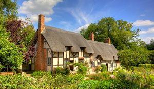 Wsi angielska, wsi wesoła... Urokliwe domy w stylu rustykalnym