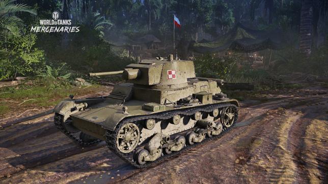 """Polskie czołgi w """"World of Tanks: Mercenaries"""""""