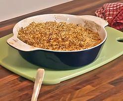Kremowy ryż z jabłkami i budyniem. Łatwy i szybki deser