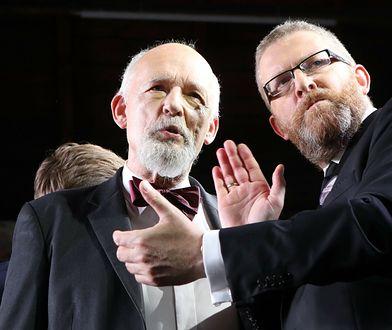 Grzegorz Braun groził ministrowi zdrowia. Konfederacja milczy