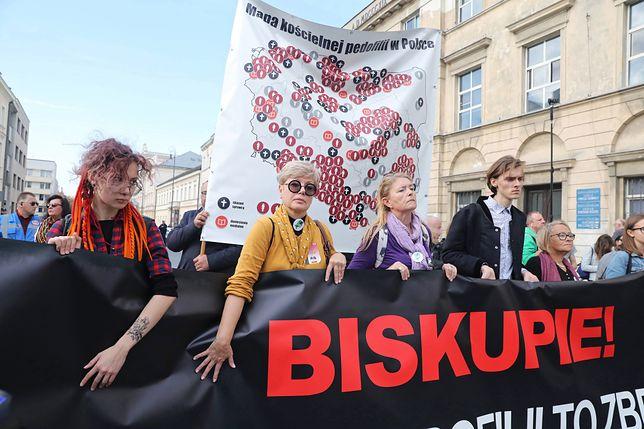 Polska. Protesty przeciwko pedofili w Kościele