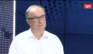 Włodzimierz Czarzasty komentuje zamieszanie wokół szefa sztabu Roberta Biedronia.