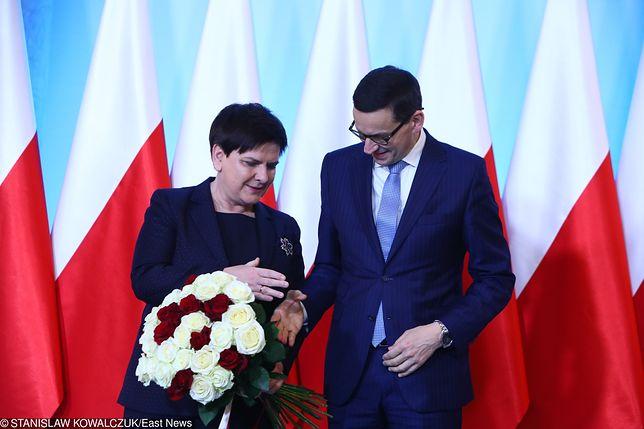 Beata Szydło przekazała Mateuszowi Morawieckiemu urząd premiera