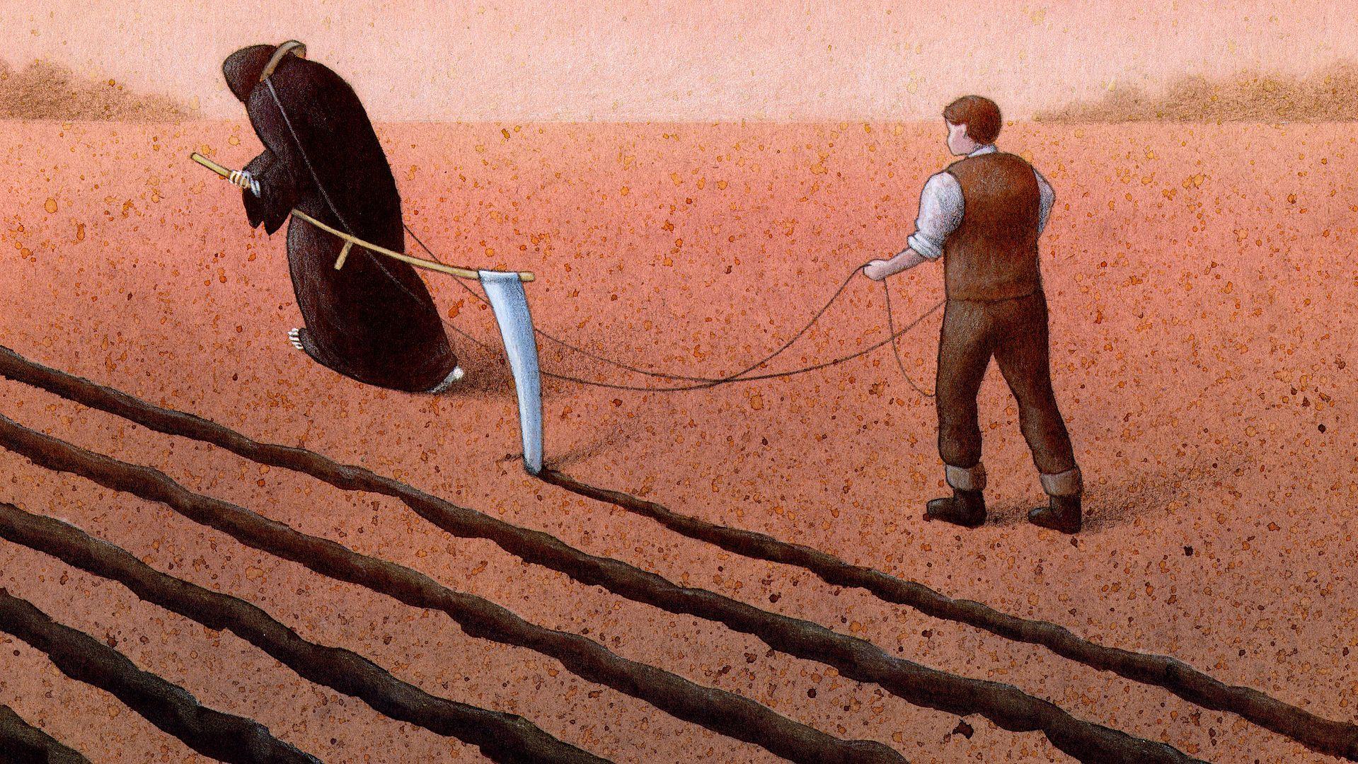 Rolnik się wiesza, gdy zostaje z niczym. W tej wsi jeden po drugim