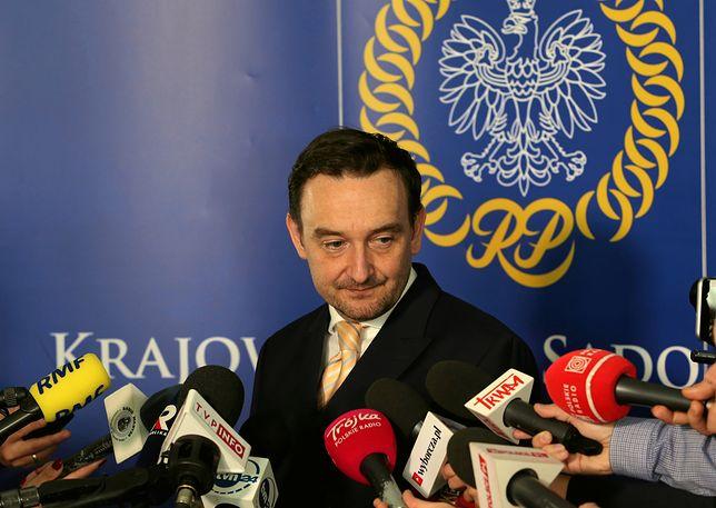 Rzecznik KRS Maciej Mitera przekonywał, że nie było jasne kogo dotyczy decyzja NSA