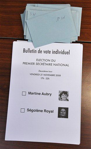 Awantura w siedzibie francuskiej Partii Socjalistycznej