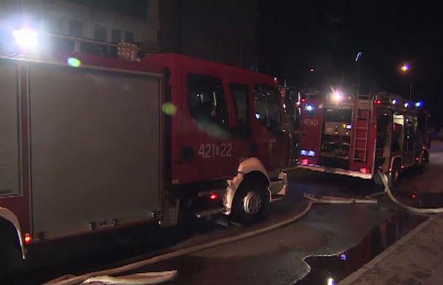 Pożar kamienicy w Chorzowie. 1 osoba nie żyje