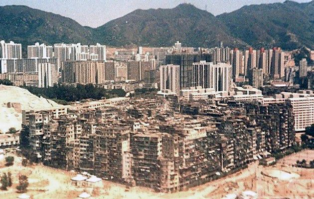 Kowloon Walled City, Chiny
