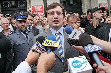 Nagranie Ziobry gwoździem do politycznej trumny Leppera?